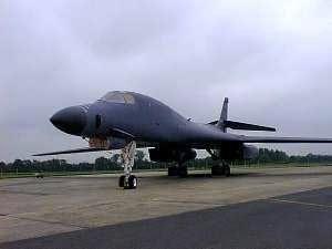 B1-B Lancer bomber